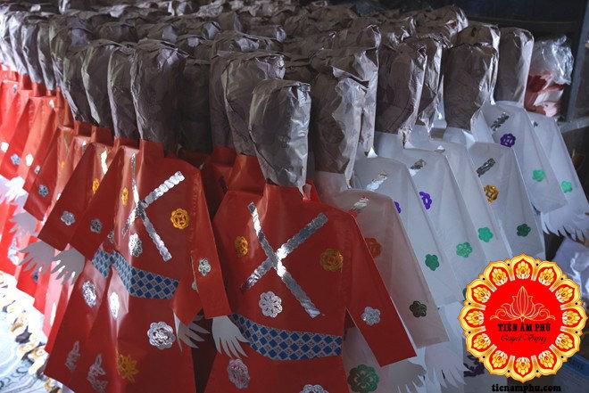 hình nhân ở làng Vàng mã Bắc Ninh