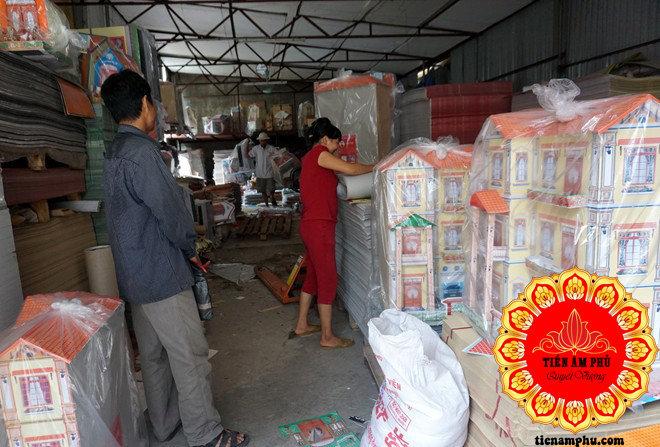 Vàng mã Bắc Ninh mua buôn nhà lầu