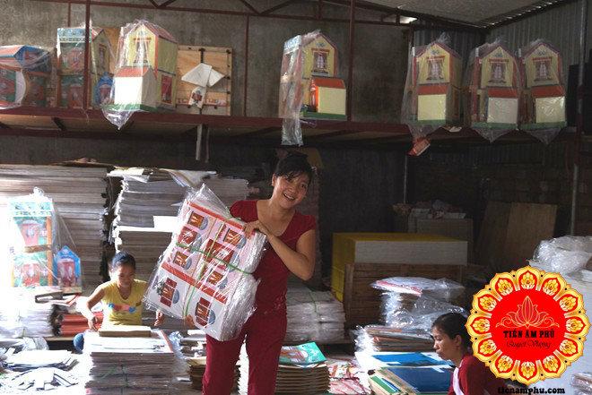 Vàng mã Bắc Ninh có doanh thu lớn