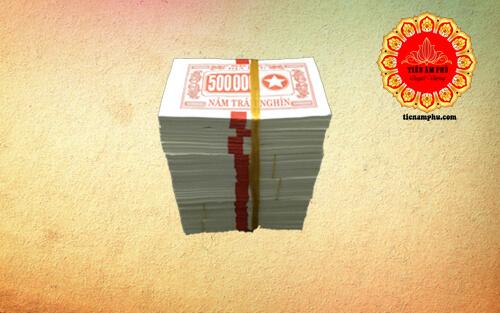 Phân loại tiền bạc sao âm phủ