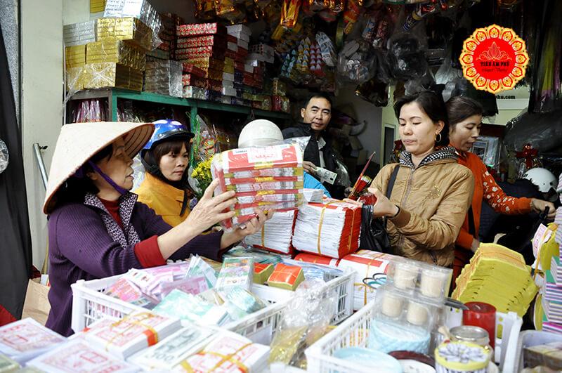 Mua vàng mã online tại Hà Nội