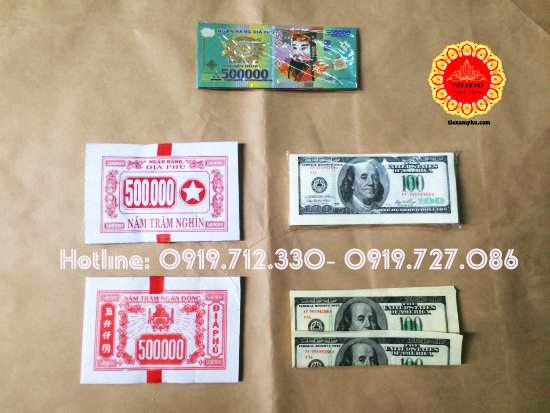 văn cúng giao thừa và tiền âm phủ