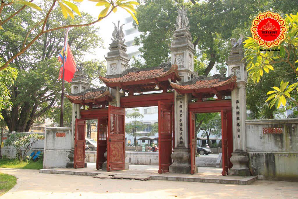 đền thờ thần Linh Lang nay ở Dịch Vọng