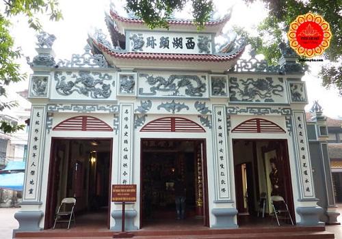 Phủ Tây Hồ Hà Nội thờ ai