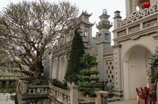 Phủ Vân Cát - Xã Kim thái nằm trong quần thể di tích Phủ Giầy