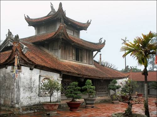 chùa bút tháp bắc ninh