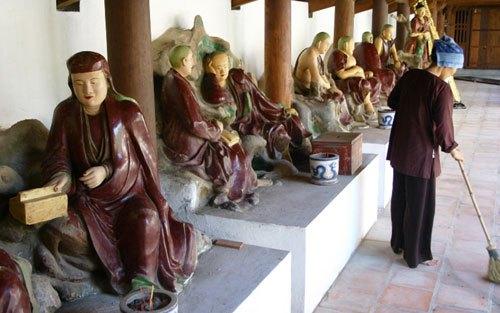 chùa dâu bắc ninh thờ ai