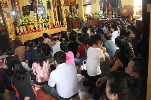 chùa quán sứ lễ giải hạn