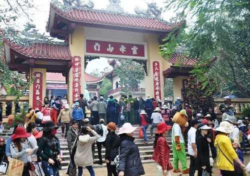 lễ hội chùa ông núi ở bình định
