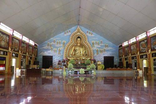 Thiền đường ở Thiền viện Phước Sơn