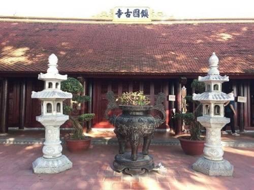 chính điện chùa Trấn Quốc