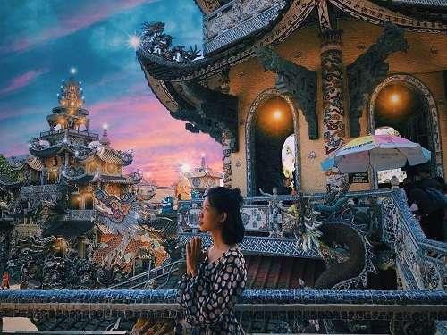 chùa linh phước ở đà lạt