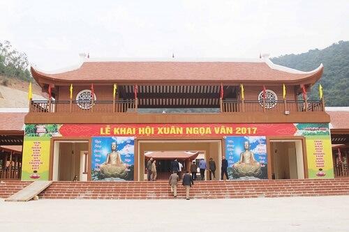 chùa Ngọa Vân Quảng Ninh