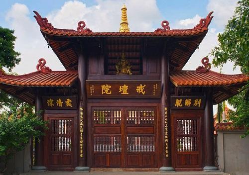 Kết quả hình ảnh cho chùa huê nghiêm bình chánh
