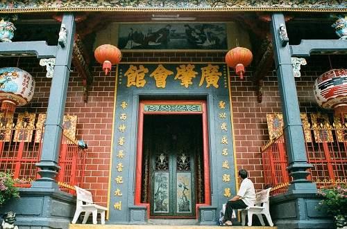 tham quan kiến trúc chùa ông