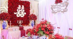 chữ hỷ trong đám cưới