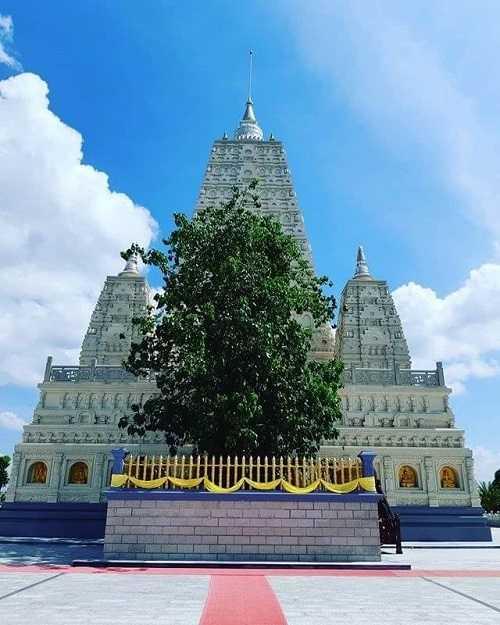 chùa thiền viện chánh giác tiền giang