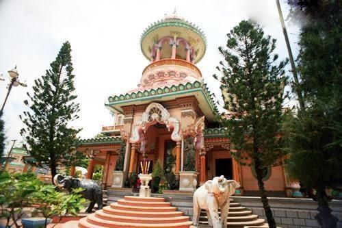 lịch sử hình thành chùa tây an