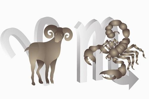 bọ cạp nam và bạch dương