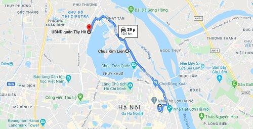 Hướng dẫn đi chùa Kim Liên
