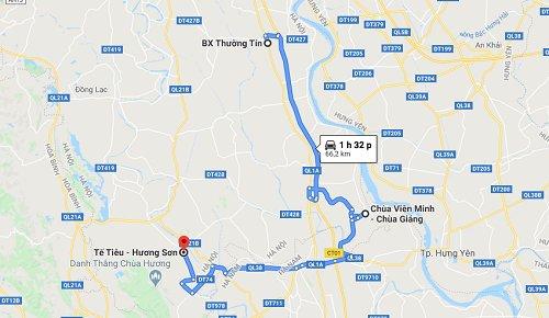 Cách đi đến chùa Viên Minh