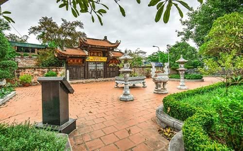 Kiến trúc chùa Kim Liên Hà Nội