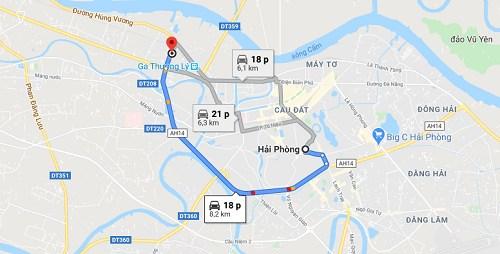 Cách đi đến chùa An Lạc bằng xe máy