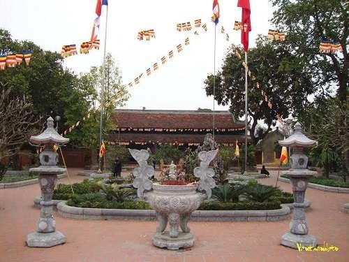 Kết cấu mái chùa kim liên