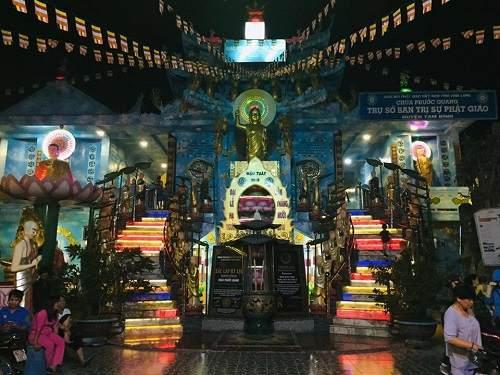 Lịch sử hình thành chùa Phước Quang