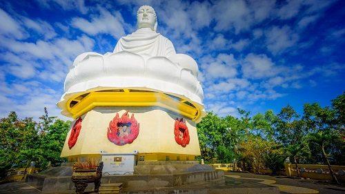 ượng Phật Tổ Nhập Niết Bàn chùa long sơn