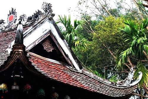 Kiến trúc mái chùa Một Cột