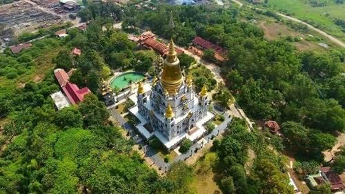 ngôi chùa Bửu Long