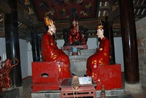 tượng phật chùa trăm gian