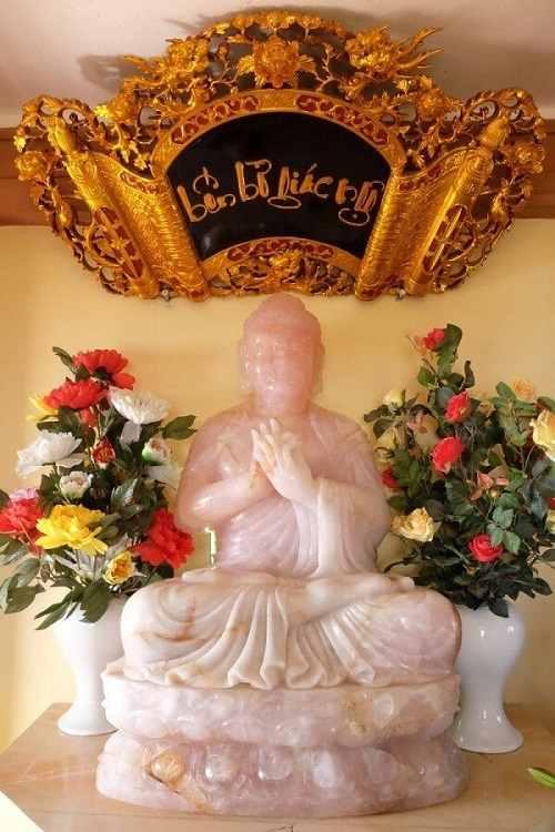 chùa đại tuệ ở nghệ an tượng phật