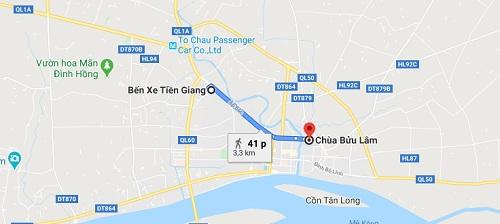 Hướng dẫn đường đi đến chùa Bửu Lâm