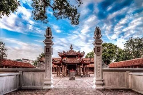 lối vào chùa Láng