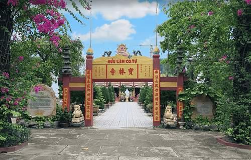 Kiến trúc thiết kế tại chùa Bửu Lâm