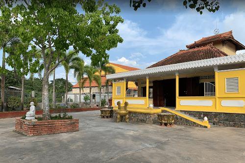kiến trúc của chùa Long Quang