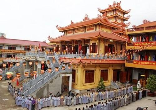 kiến trúc chùa Phổ Quang