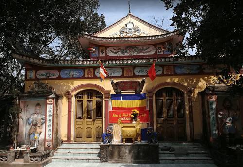 Kết cấu chung của chùa Quan Âm