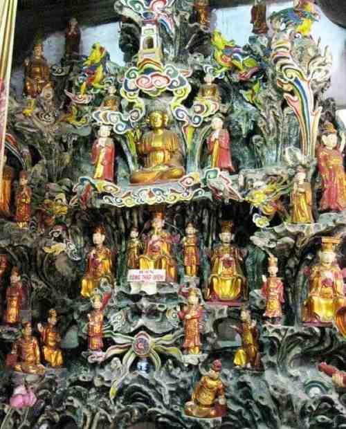 thập điện chùa Láng