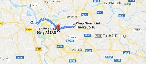 Cách đi đến chùa Linh Sơn