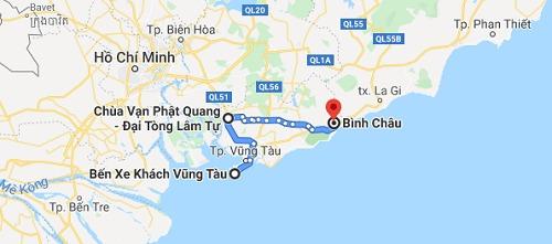 Hướng dẫn đường đi đến chùa Đại Tòng Lâm