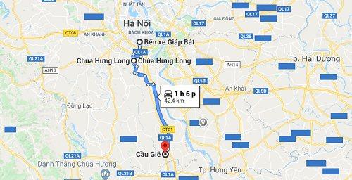Hướng dẫn đi đến chùa Hưng Long