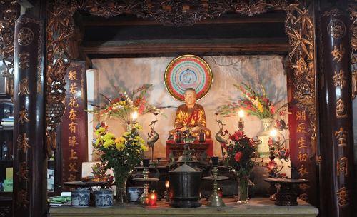 Kiến trúc ở chùa Phúc Khánh